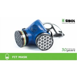 Semimascara de proteccion Fit Mask P87