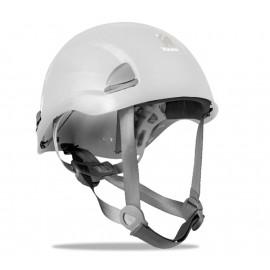 Casco de protección para trabajos en altura. Color Blanco. Marca modelo YAKO