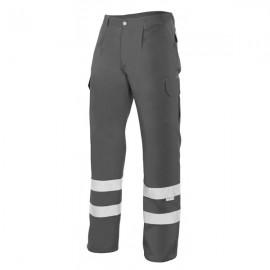Pantalón de trabajo con tiras reflectantes Velilla159