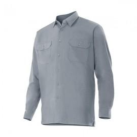 Camisa manga larga 2 bolsillos Velilla 520
