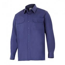 Camisa manga larga 100% algodón Velilla 533