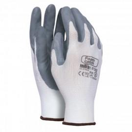10 pares de guantes poliamida con pàlma impregnada en nitrrilo